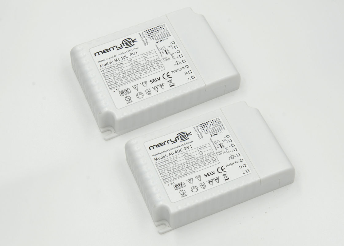 1-10V 350mA - 900mA LED Dimmable Driver 40W With Memory Function